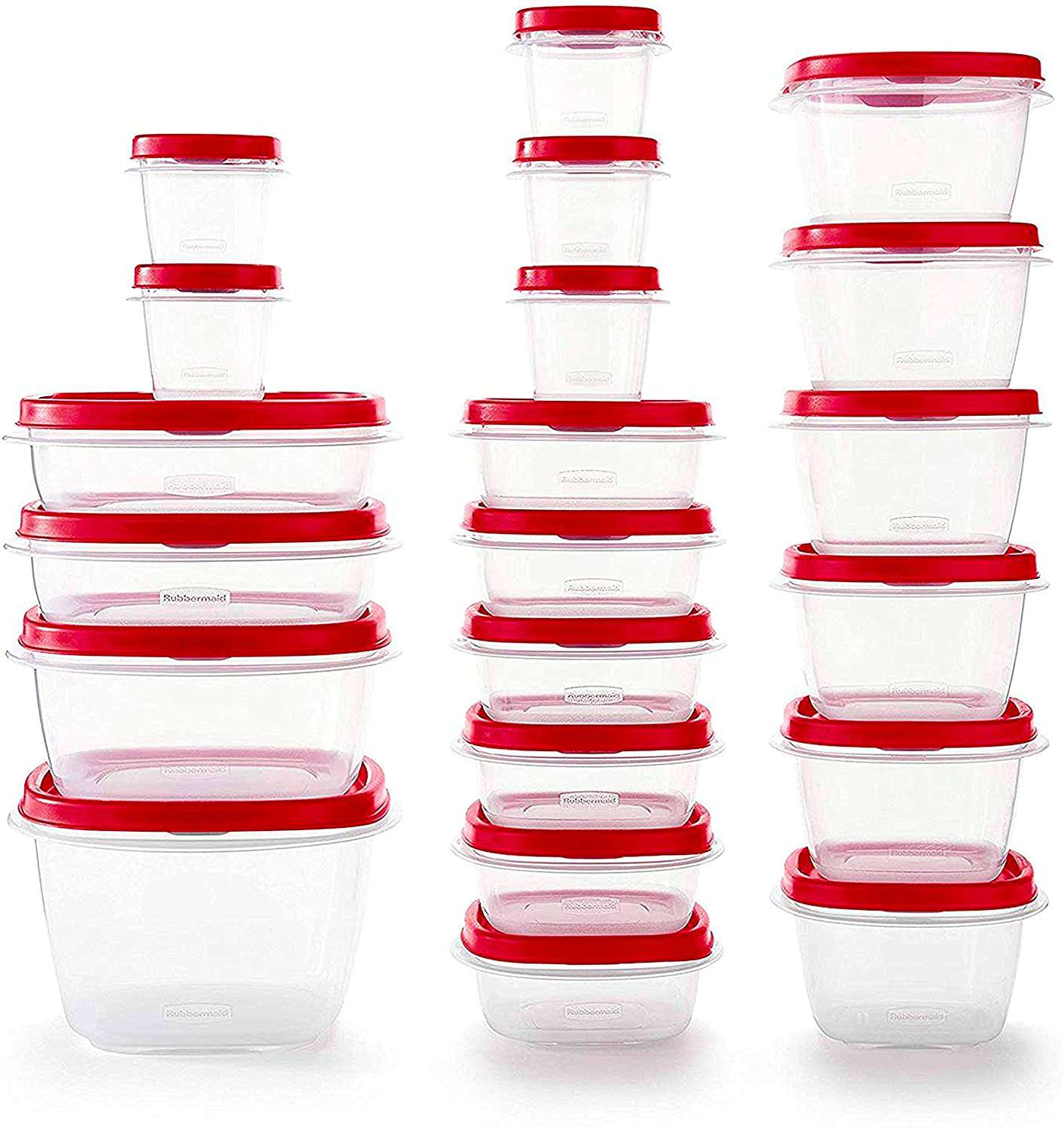 Rubbermaid 42-Piece Easy Find Vented Lids Food Storage Containers
