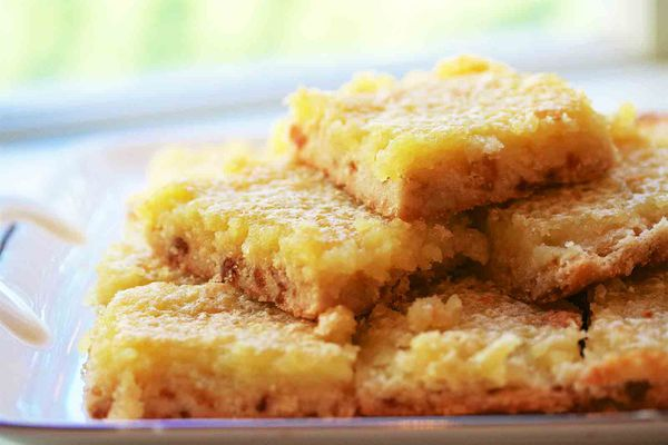 gingered lemon bars