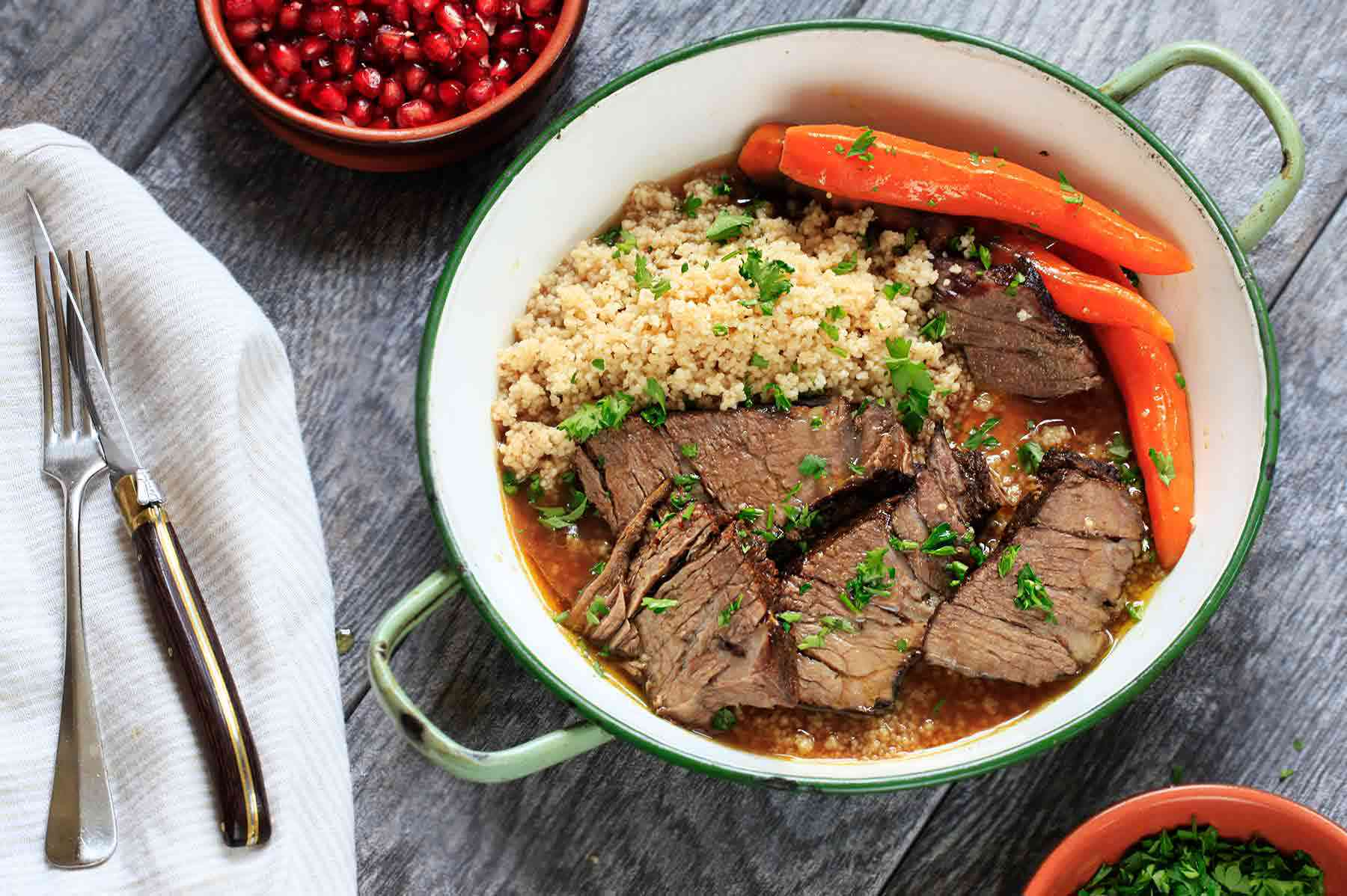 Pot Roast with Moroccan Spices