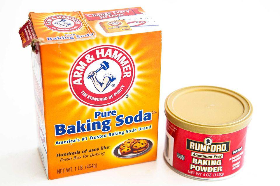 Baking Soda verses Baking Powder