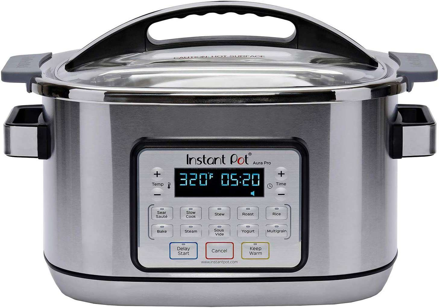 Instant Pot Aura Pro 11-in-1 Multicooker Slow Cooker